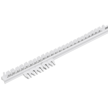 Rail complet 'Plus' 150 cm blanc