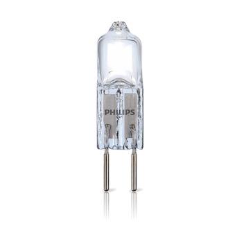 Capsule écohalogène Philips G4 7 W = 10 W 86 Lm blanc chaud dimmable 2 pcs