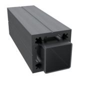 Poortpaal HKC Kunststof graphite black