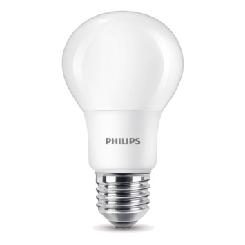 Ampoule LED poire Philips E27 60 W blanc chaud 6 pièces