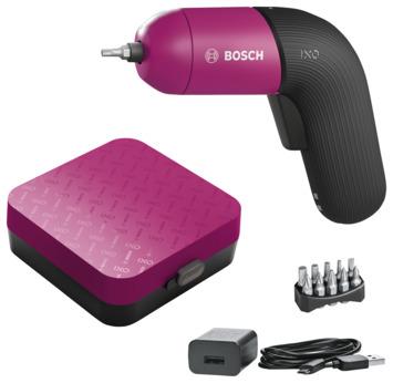 Bosch Accuschroevendraaier IXO 6 Color inclusief 10-delige bitset