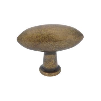 Bouton de meuble Fanny 38 mm bronzé