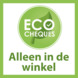 Jungle Gym Hut met gele glijbaan ecoCheque
