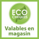 Support rond Intensions Natural FSC argile ø28 mm 15 cm 2 pièces ecoCheque