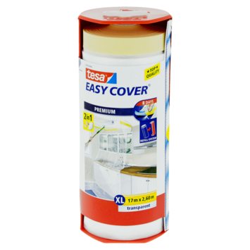 Tesa Easy Cover Dérouleur 17 cm x 2,6 m