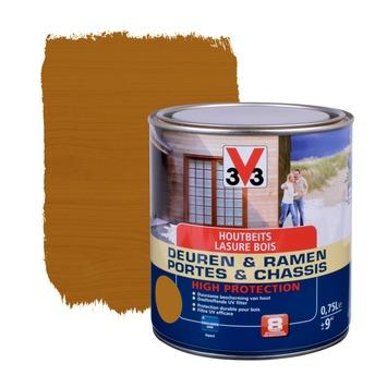 V33 Ramen & Deuren High Protection beits zijdeglans midden eik 750 ml