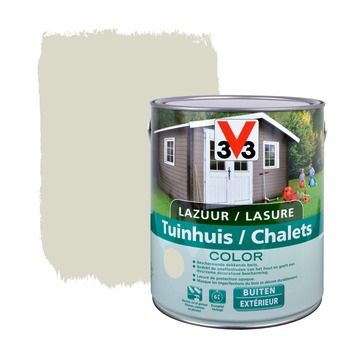 Lasure chalets color V33 satin salar grey 2,5 L