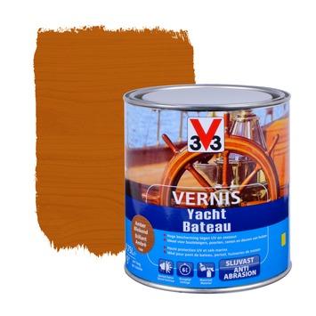 V33 jachtvernis hoogglans amber 750 ml