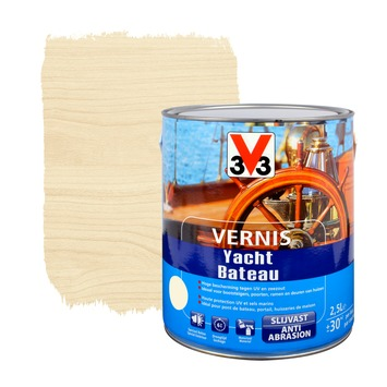 Vernis bateau V33 brillant incolore 2,5 L