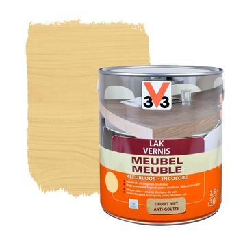 V33 meubelvernis zijdeglans kleurloos 2,5 L