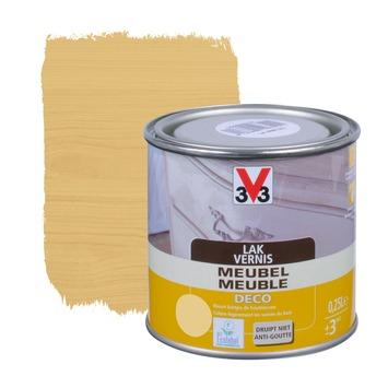 V33 meubelvernis deco zijdeglans lichte eik 250 ml