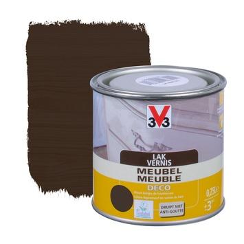 V33 meubelvernis deco zijdeglans wengé 250 ml