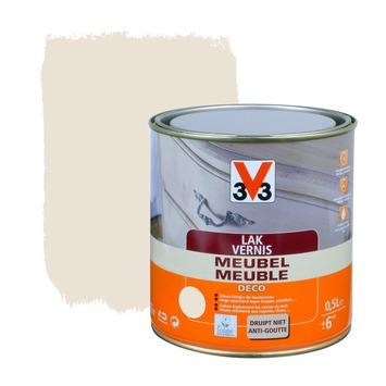 V33 meubelvernis deco zijdeglans wit 500 ml