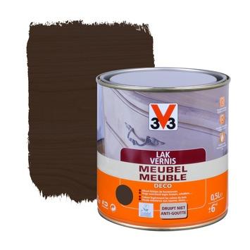 V33 meubelvernis deco mat wenge 500 ml