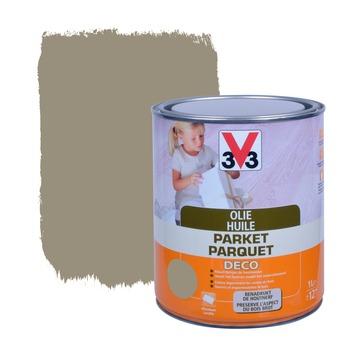 V33 parketolie mat donkergrijs 1 L