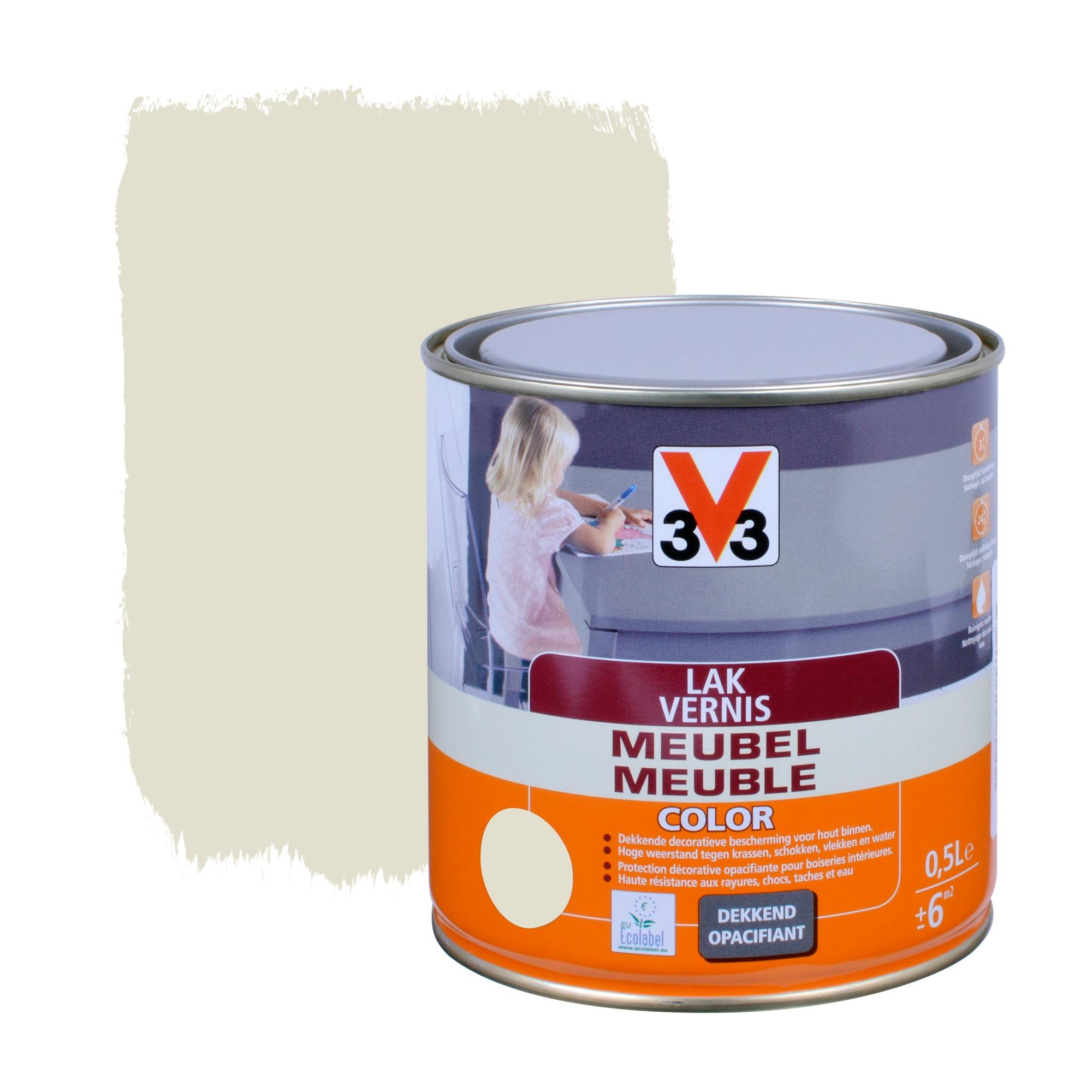 Vernis meuble color v33 moonlight 500 ml vernis huiles - Peinture meuble v33 ...