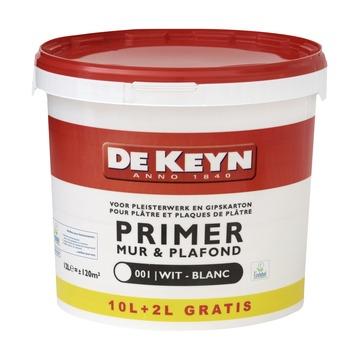 De Keyn primer muur en plafond 001 wit 10+2 l