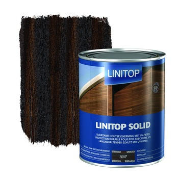 Linitop Solid houtbescherming zijdeglans palissander 2,5 L