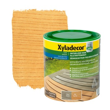 Xyladecor Ontgrijzer buitenhout kleurloos 1 L