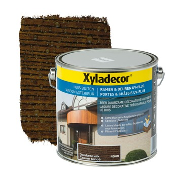 Xyladecor Ramen & Deuren UV-plus beits donkere eik 2,5 L