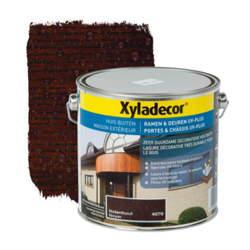 Lasure portes & châssis UV-plus Xyladecor noyer 2,5 L