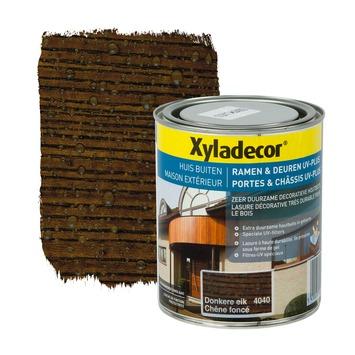 Xyladecor Ramen & Deuren UV-plus beits donkere eik 750 ml