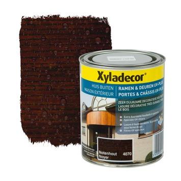 Xyladecor Ramen & Deuren UV-plus beits notenhout 750 ml