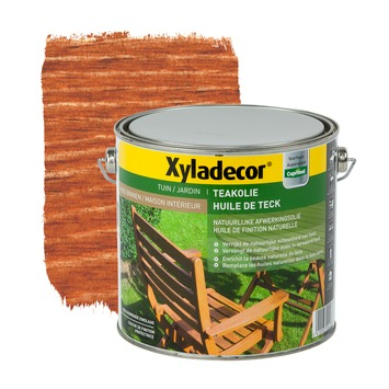 Huile de teck Xyladecor naturel 2,5 L