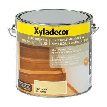 Vernis escalier & parquet acryl Xyladecor mat 2,5 L incolore