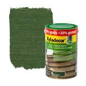 Lasure bois de jardin Xyladecor vert sapin 5+1 L