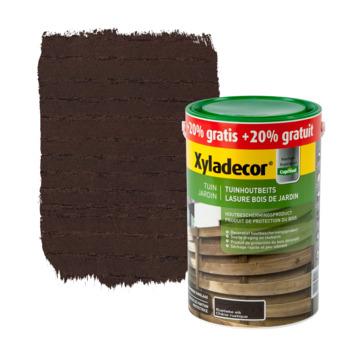 Lasure bois de jardin Xyladecor chêne rustique 5+1 L