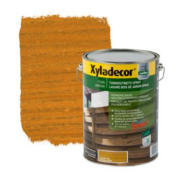 Lasure bois de jardin spray Xyladecor chêne clair 5 L