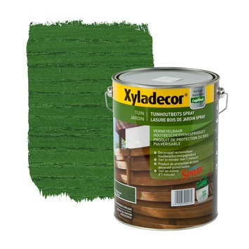 Xyladecor beits tuinhout Spray woudgroen 5 L