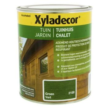 Lasure pour chalet Xyladecor vert 750 ml