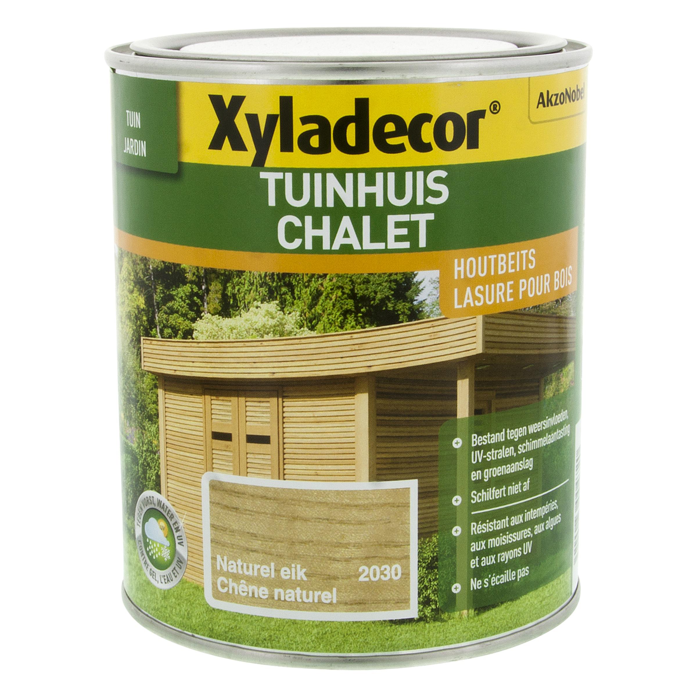 lasure pour chalet xyladecor ch ne naturel 750 ml vernis huiles lasures papier peint. Black Bedroom Furniture Sets. Home Design Ideas