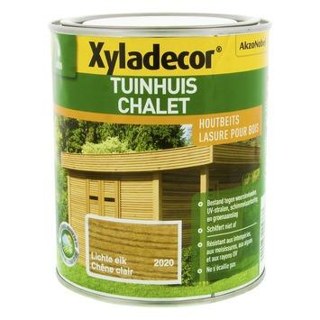 Lasure pour chalet Xyladecor chêne clair 750 ml