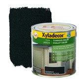 Xyladecor Tuinhuis kleur houtskool 2,5 L