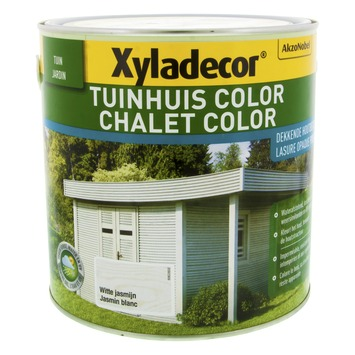 Lasure chalet color Xyladecor jasmin Blanc 2,5 L