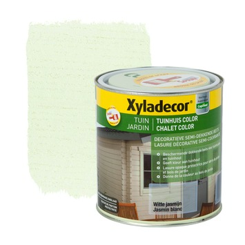 Lasure chalet color Xyladecor jasmin blanc 1 L