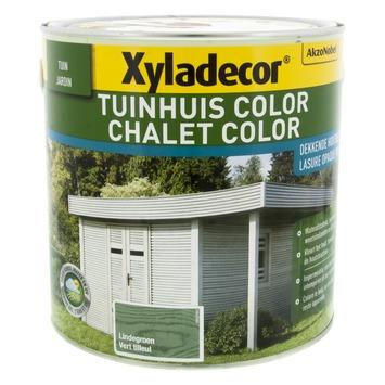 Xyladecor Tuinhuis kleur lindegroen 2,5 L