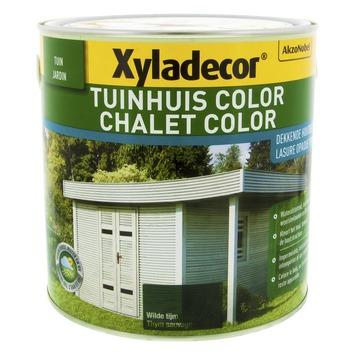 Xyladecor Tuinhuis kleur wilde tijm 2,5 L