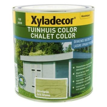 Xyladecor Tuinhuis kleur nevelgrijs 1 L