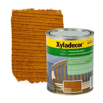 Xyladecor tuinmeubelbeits naturel 1 L