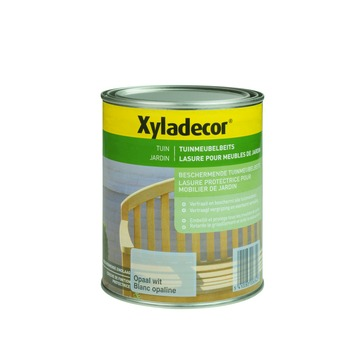 Xyladecor tuinmeubelbeits opaal wit 1 L