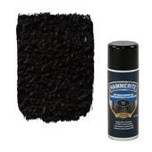Laque réfractaire en aérosol Hammerite mat 400 ml noir