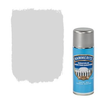 Hammerite radiatorverf zijdeglans zilver 400 ml