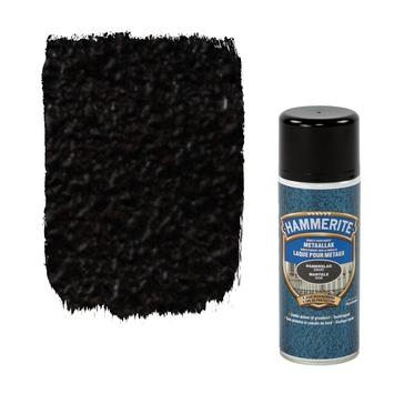 Hammerite metaallak hamerslag zwart 400 ml
