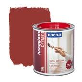 GAMMA lak hoogglans extra dekkend bessen rood 250 ml