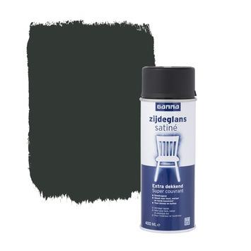 GAMMA spuitlak zijdeglans zwart 400 ml