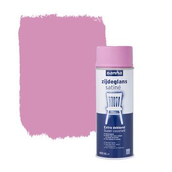 GAMMA spuitlak zijdeglans prinsessen roze 400 ml